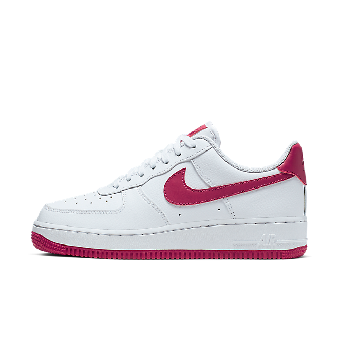 Nike Wmns Air Force 1 '07 (White / Wild Cherry - White - Noble Red)