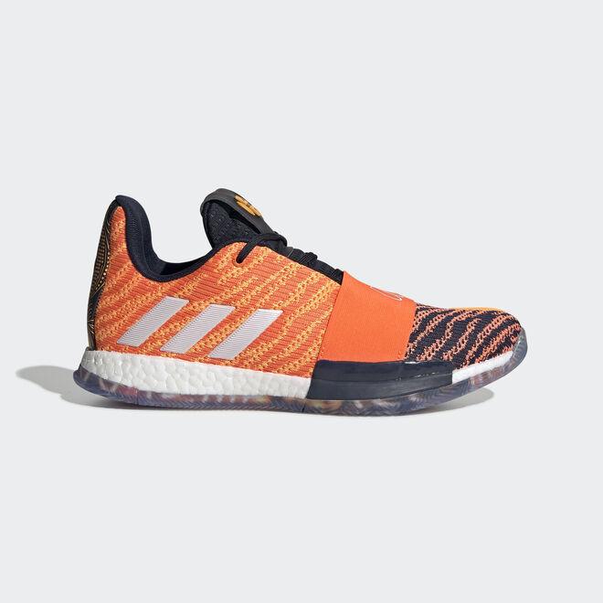 adidas performance Harden Vol. 3 flash orangeftwr white