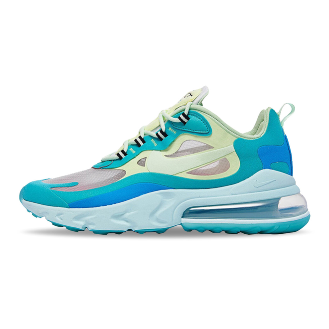 Nike Air Max 270 React Hyper Jade Frosted Spruce Barely Volt | A04971 301 | Sneakerjagers
