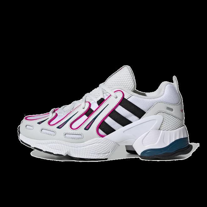 adidas EQT Gazelle 'Crystal White/Shock Pink' zijaanzicht