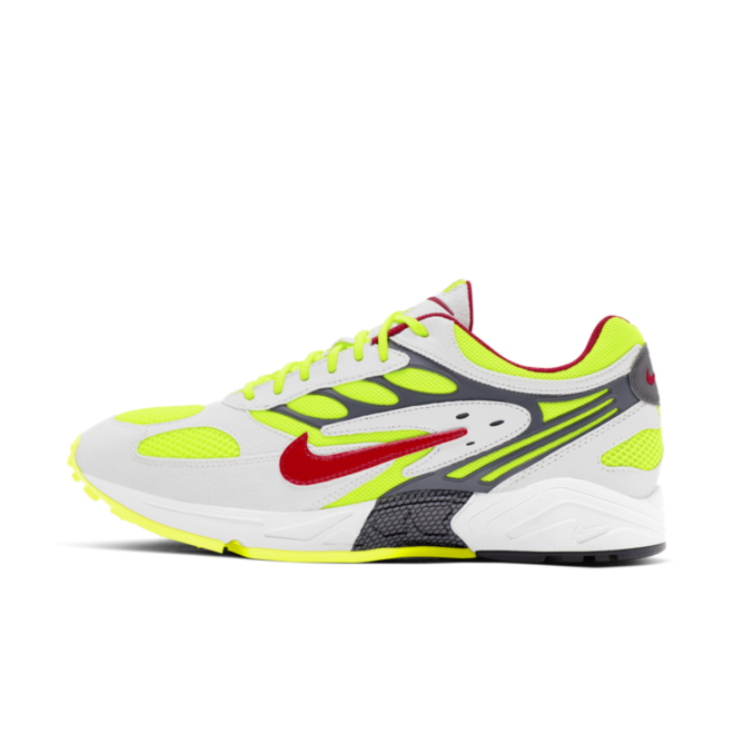 Nike Air Ghost Racer 'Neon Yellow' zijaanzicht