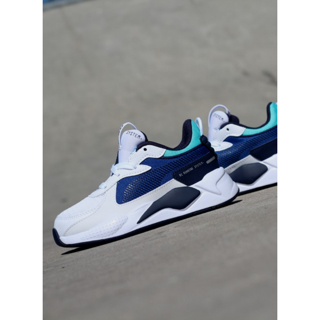 Puma Rs-X hard drive white/blue GS
