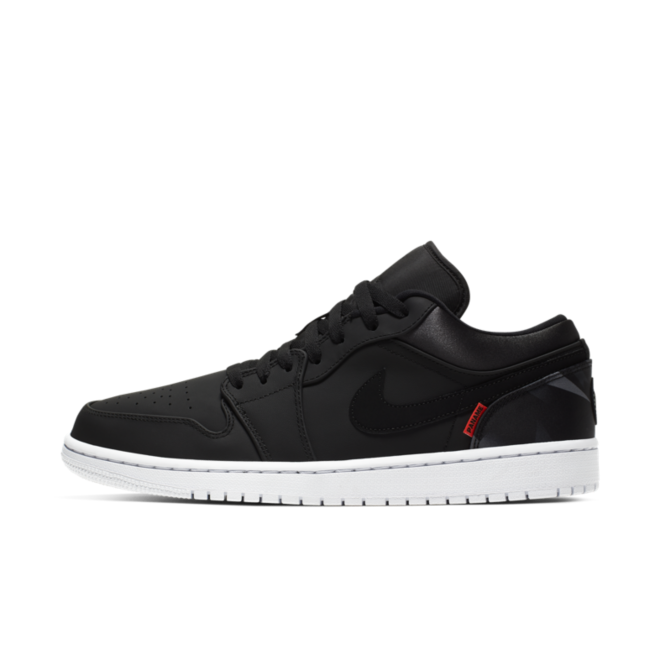 PSG X Air Jordan 1 Low 'Black' CK0687-001