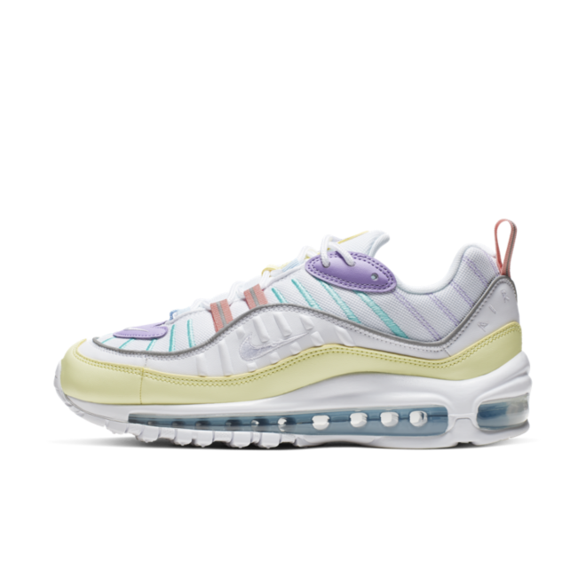 THIS NIKE AIR MAX 98 GETS COVERED IN PASTEL TONES | Nike air