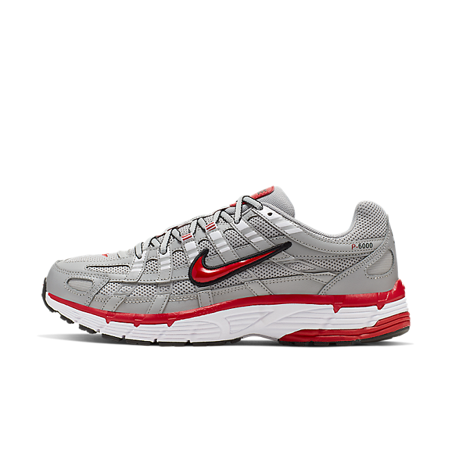 Nike P-6000 'Grey/Red' CD6404-001