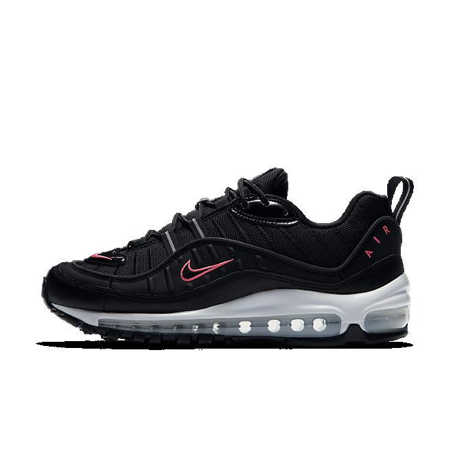 Nike Air Max 98 Black Crimson CN0140 001 Release Info