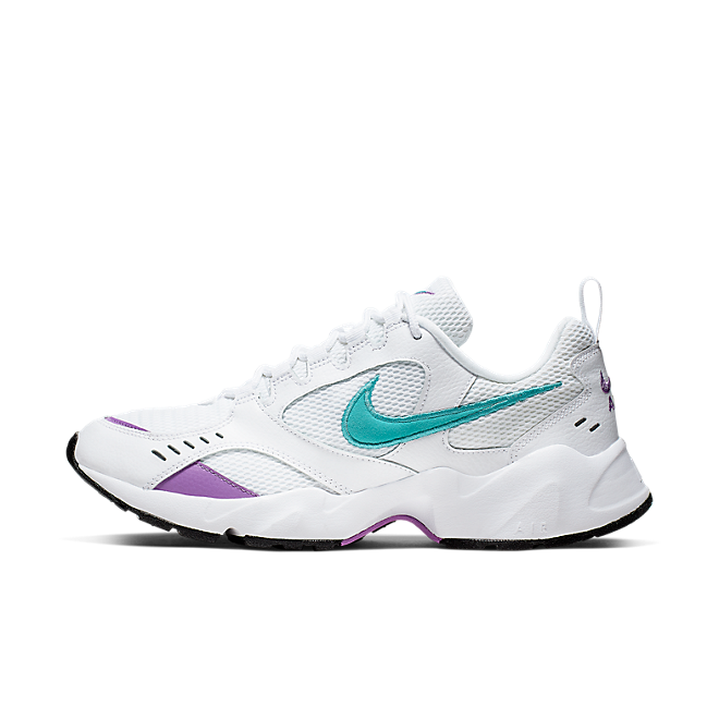 Nike Air Heights (White / Teal Nebula - Bright Violet)