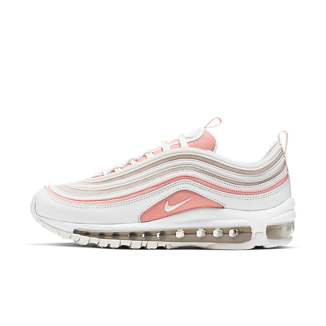 Nike Wmns Air Max 97 (Summit White / Summit White - Bleached Coral)