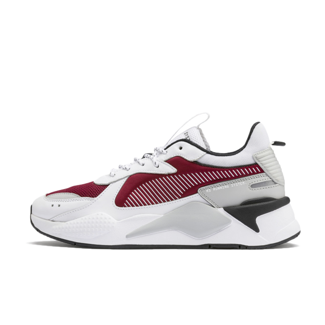 Puma RS-X Core 'White/Burgundy' zijaanzicht