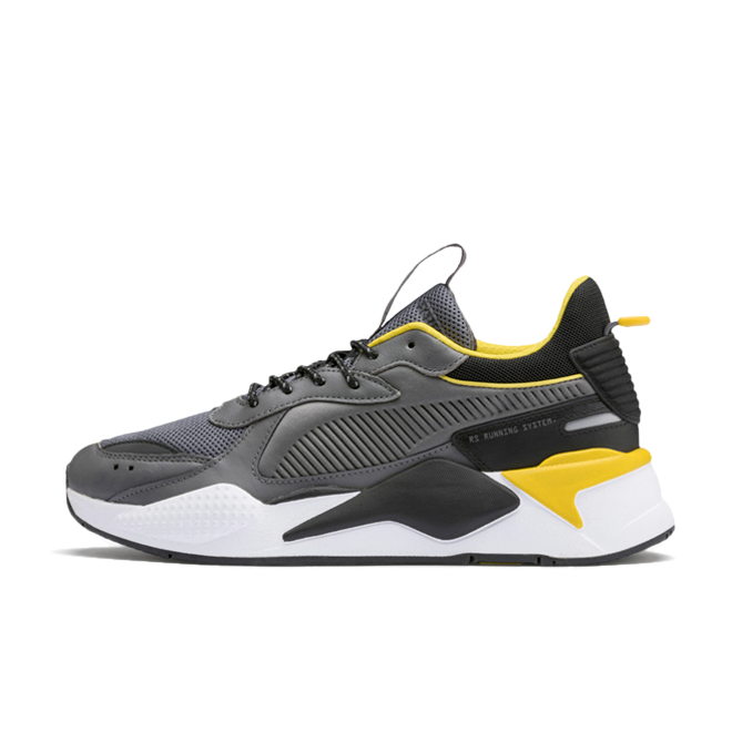 Puma RS-X Core 'Grey/Yellow' zijaanzicht