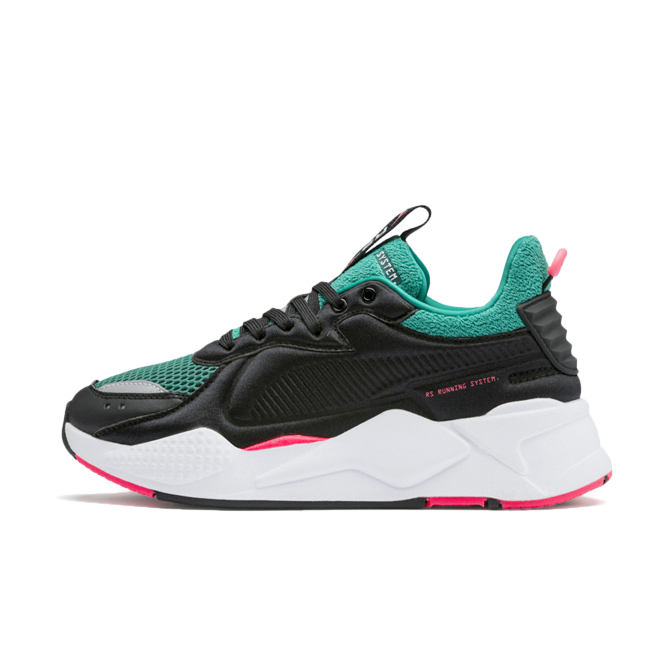 Puma RS-X 'Black/Green' zijaanzicht