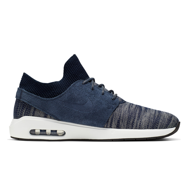 Nike SB Air Max Janoski 2 Premium Shoes (obsidian summit white)