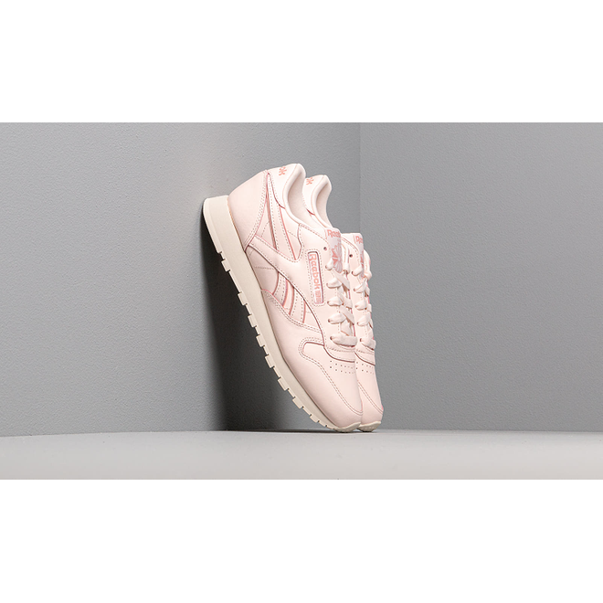 Reebok CL Leather Pale Pink/ Paperwhite/ Chlk