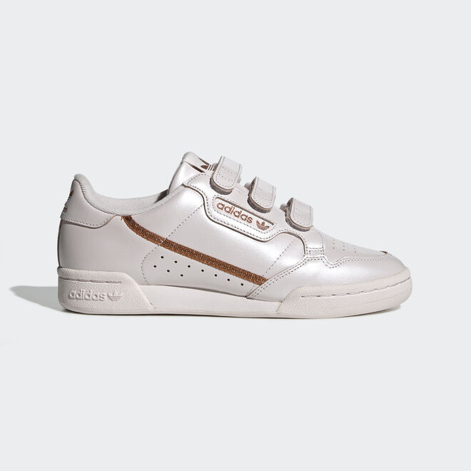 adidas Continental 80 W Strap Orchid Tint/ Copper Metalic/ Orchid Tint zijaanzicht