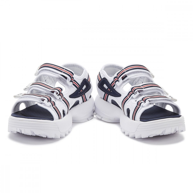 Fila Disruptor Hs Womens White / Navy / Red Sandals