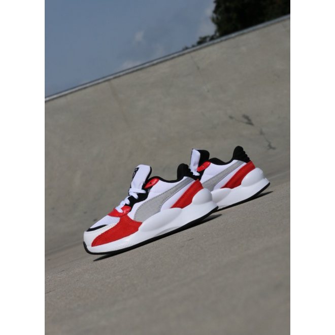 Puma Rs 9.8 space white/risk red PS