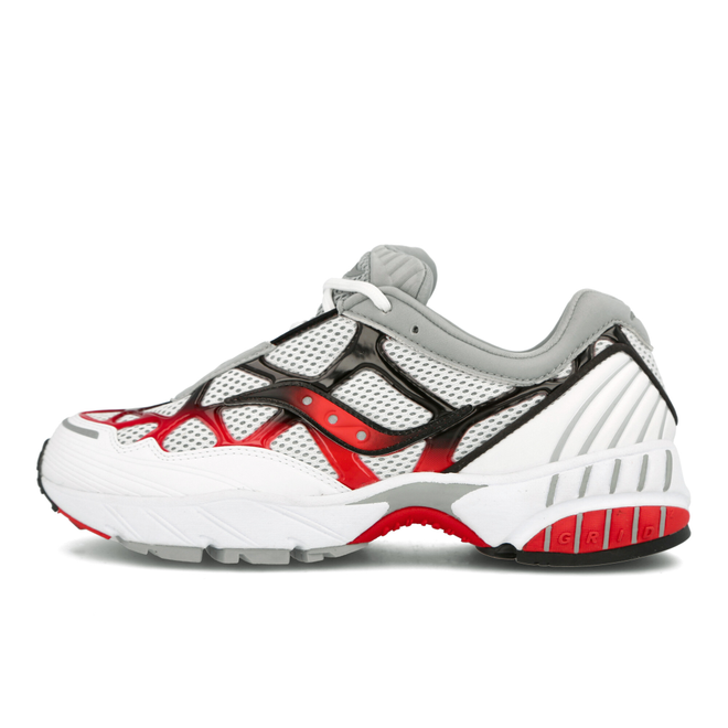 Saucony Grid Web (White / Grey / Red)