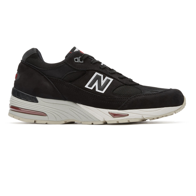 New Balance M991NKR *Made in England* (Black / Red)