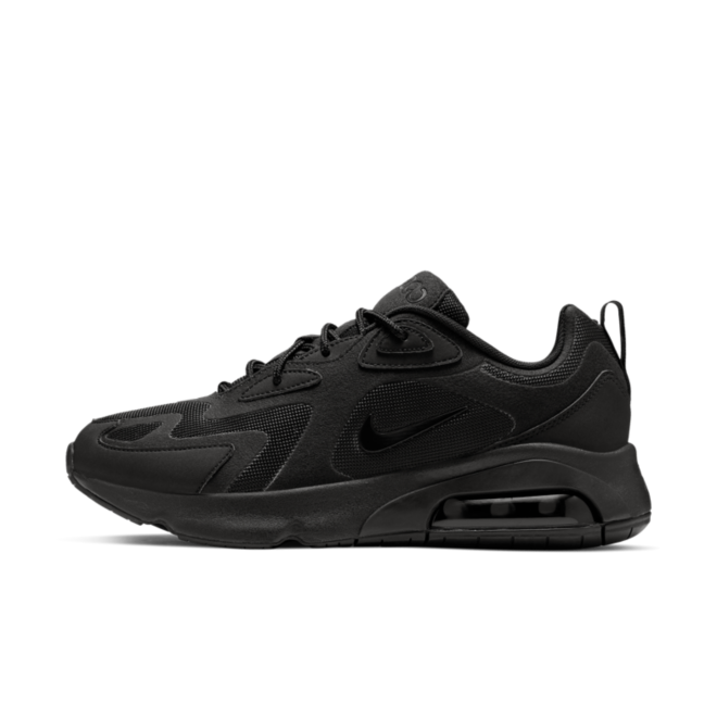 Nike Air Max 200 'Triple Black' AQ2568-003