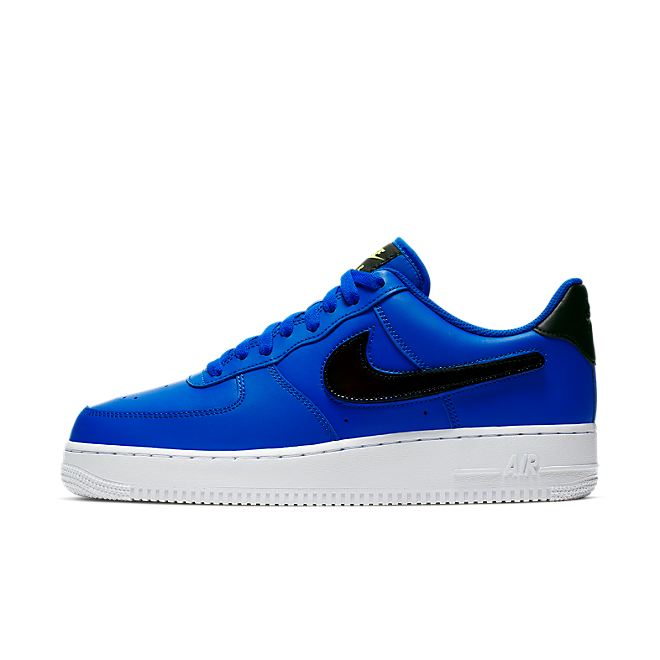 Nike Air Force 1 '07 Lv8 3 'Racer Blue' zijaanzicht
