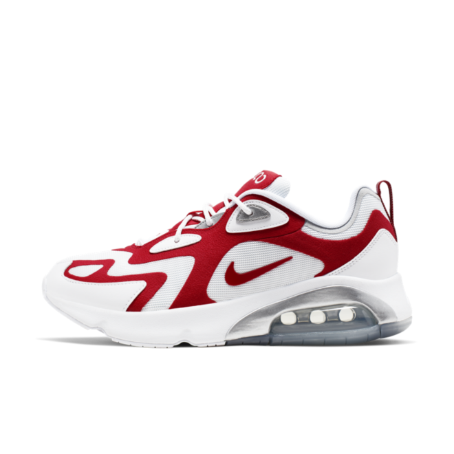 Nike Air Max 200 'White & Red' AQ2568-100