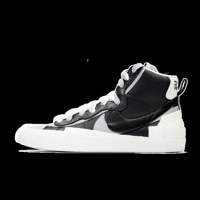 Sacai X Nike Blazer Mid 'Black' BV0072-002