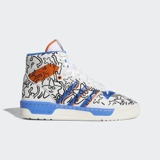 Adidas Rivalry Keith Haring
