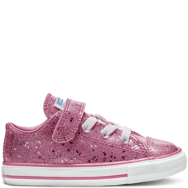 Chuck Taylor All Star Galaxy Glimmer Hook and Loop Low Top
