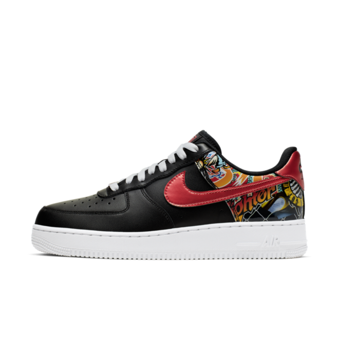 Nike Air Force 1 '07 'Graphic' zijaanzicht