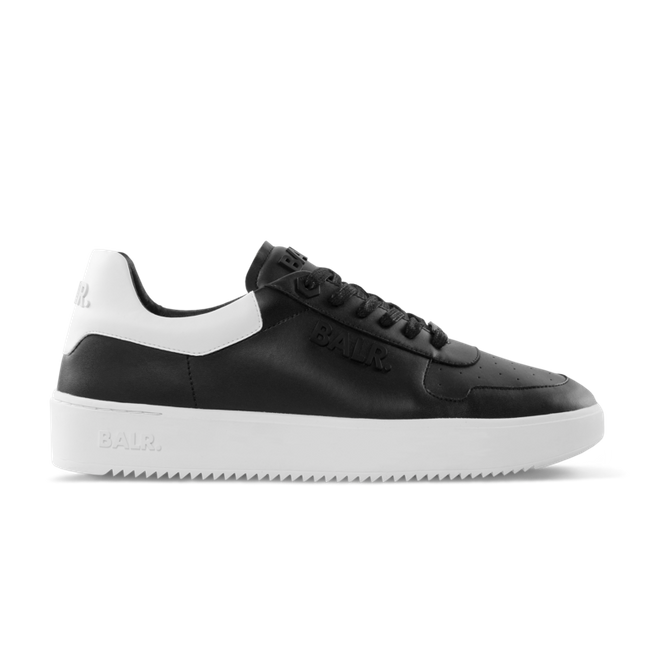 BALR. Leather Clean Logo Sneakers Low Black