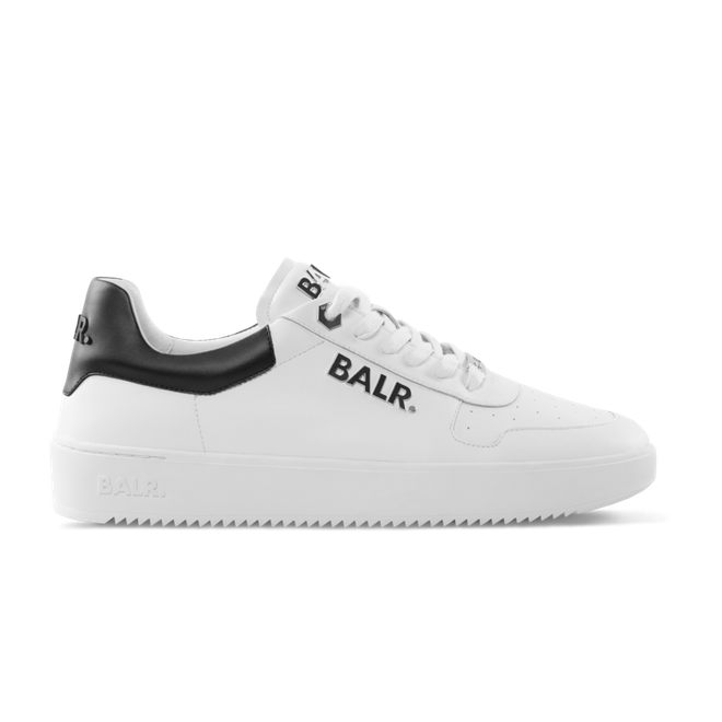 BALR. Leather Clean Logo Sneakers Low White BALR-1747