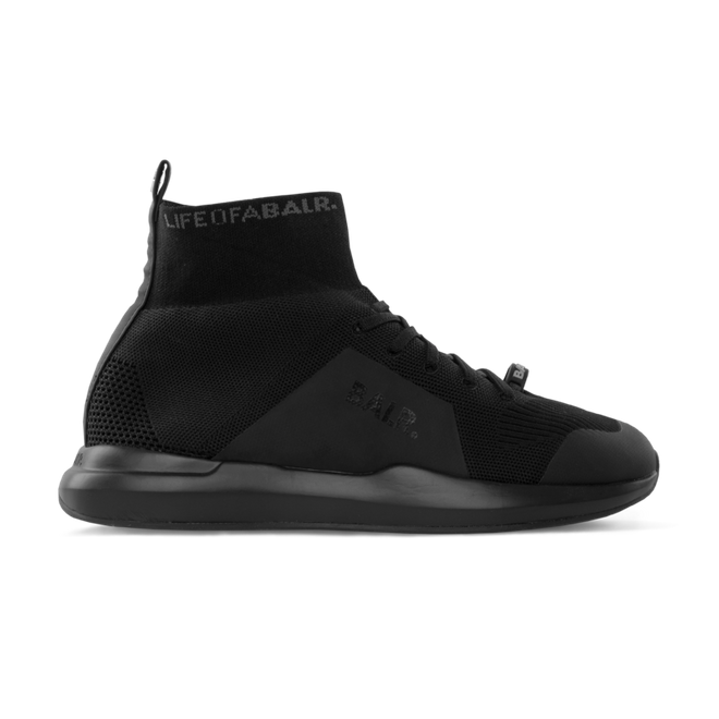 BALR. EE Premium Sock Sneakers V4 Reflective Black