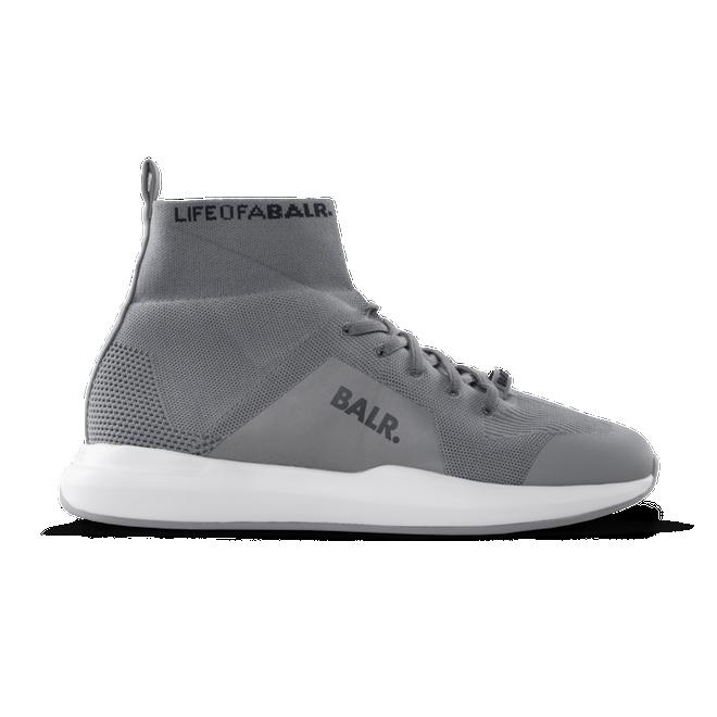 BALR. EE Premium Sock Sneakers V4 Reflective Grey - Grey