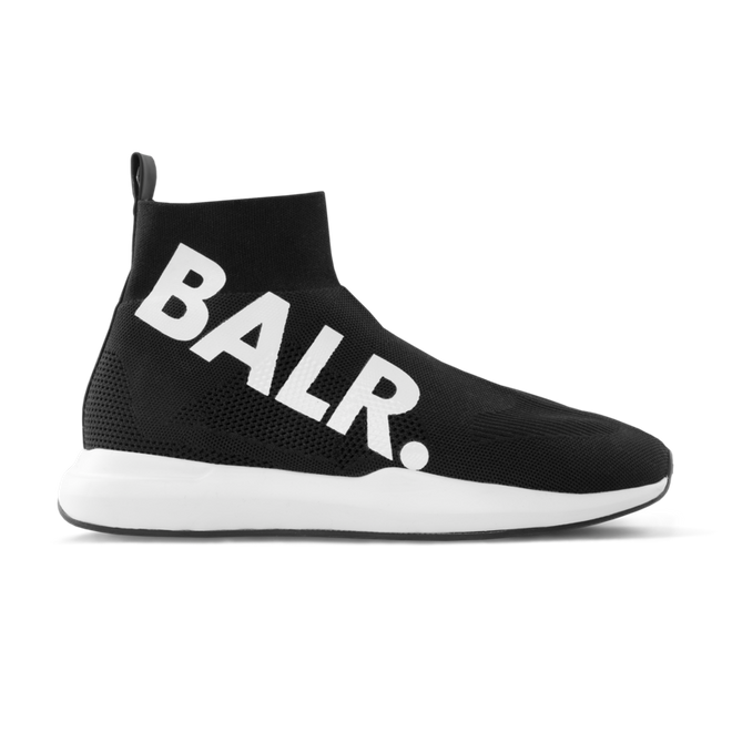 BALR. EE Premium Sock Sneakers Big Brand Black BALR-1756