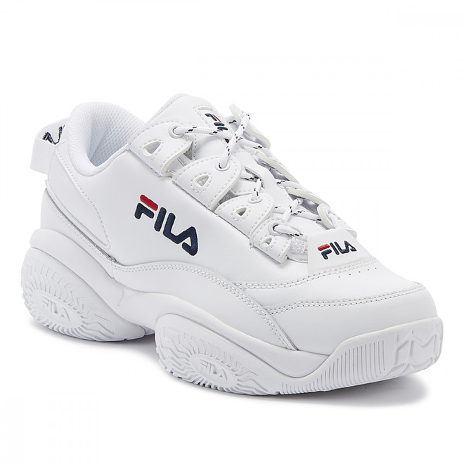 Fila Provenance Mens White Trainers