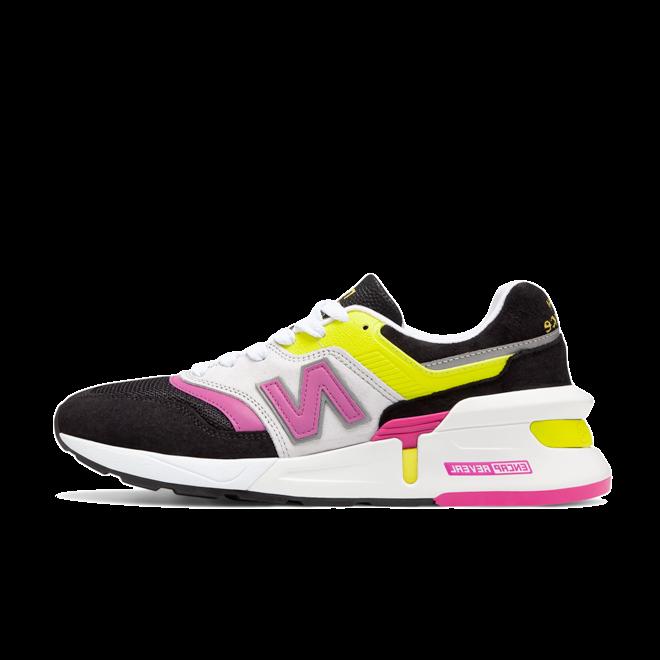 New Balance M997SKP 'Yellow Pink' zijaanzicht