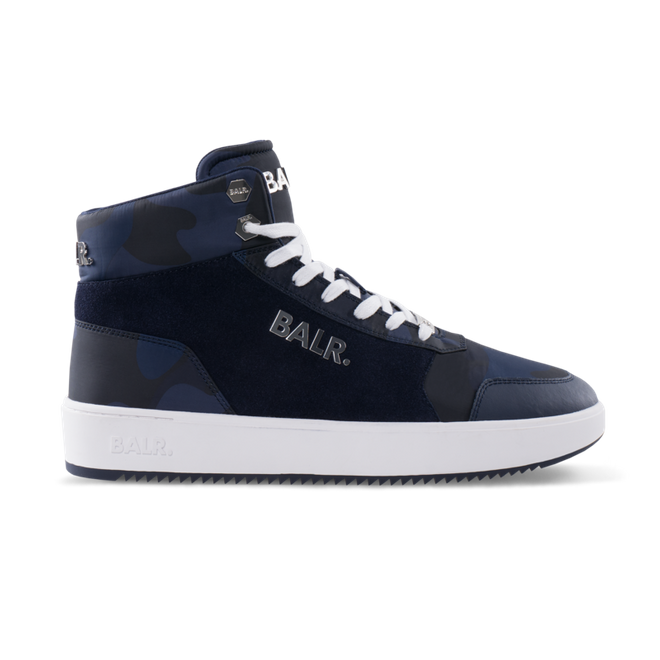 BALR. Original Brand Sneakers High Camo Blue