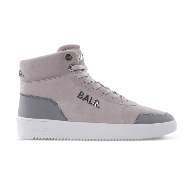 BALR. Leather Original Brand Sneakers High Beige - Beige