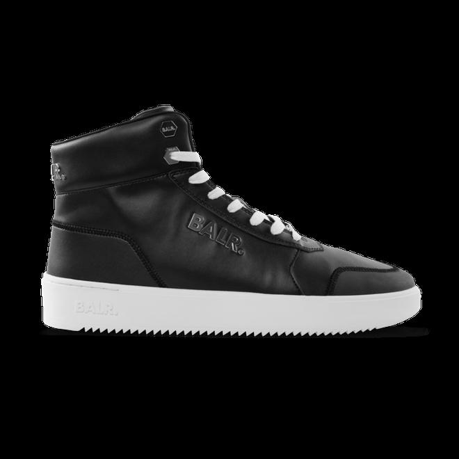 BALR. Leather Original Brand Sneakers High Black