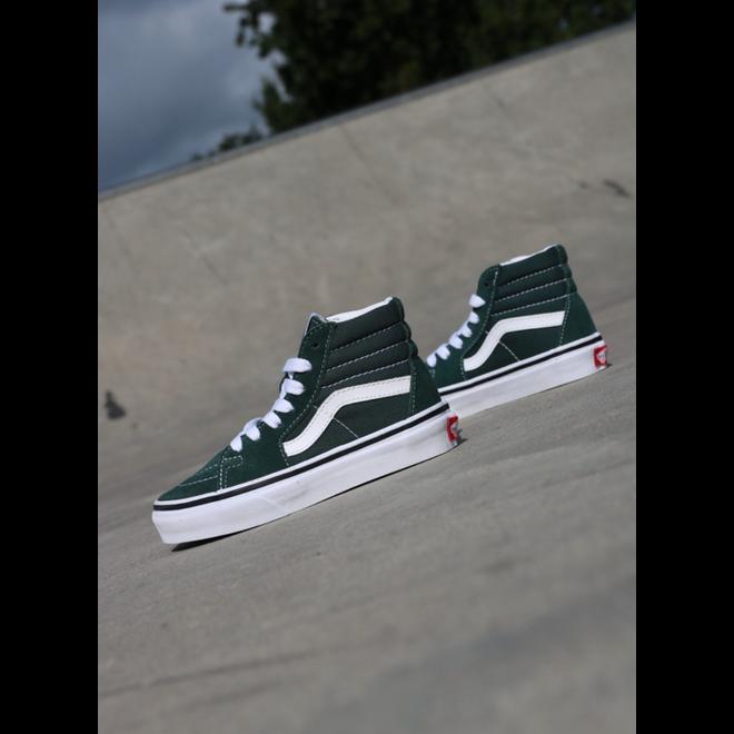 Vans Sk8-hi Green/White PS