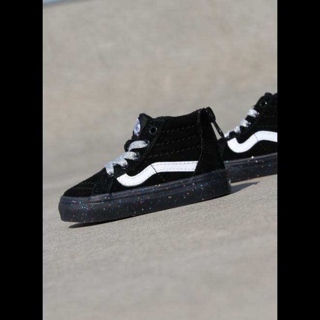 Vans Sk8-hi zip Black/Glitter TS