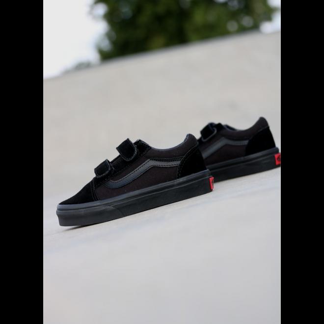 Vans Old skool Black/Black Velcro PS