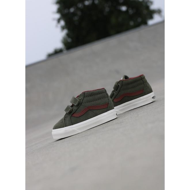 Vans Sk8-mid Reissue Deep/Green TS VN0A348JV401
