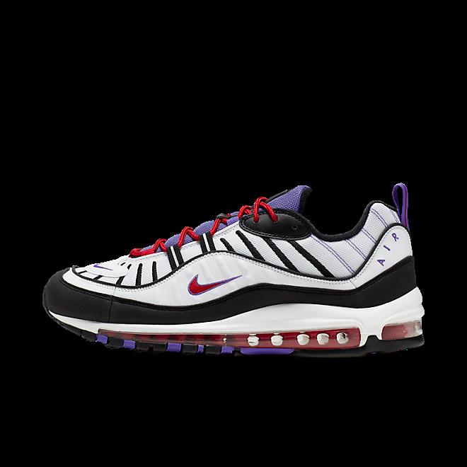 Nike Air Max 98 *Raptors* (White / Black - Psychic Purple)