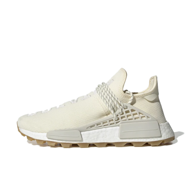 Pharrell Williams x adidas NMD Hu Trail 'Cream White'