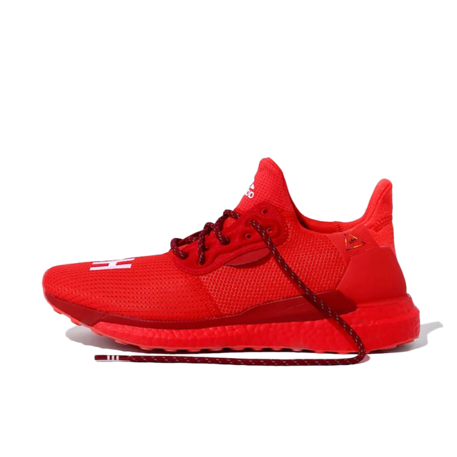 Pharrell Williams X adidas Solar Hu Glide Prd 'Power Red' zijaanzicht
