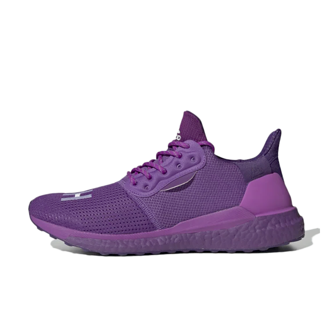 Pharrell Williams X adidas Solar Hu Prd 'Tribe Purple' zijaanzicht
