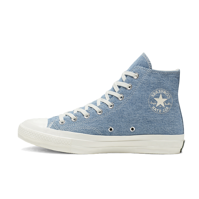 Converse Chuck 70 RENEW Denim 'Light Indigo' zijaanzicht