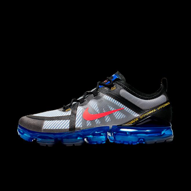 Nike Air Vapormax 2019 (Black / Bright Crimson - Hyper Blue)