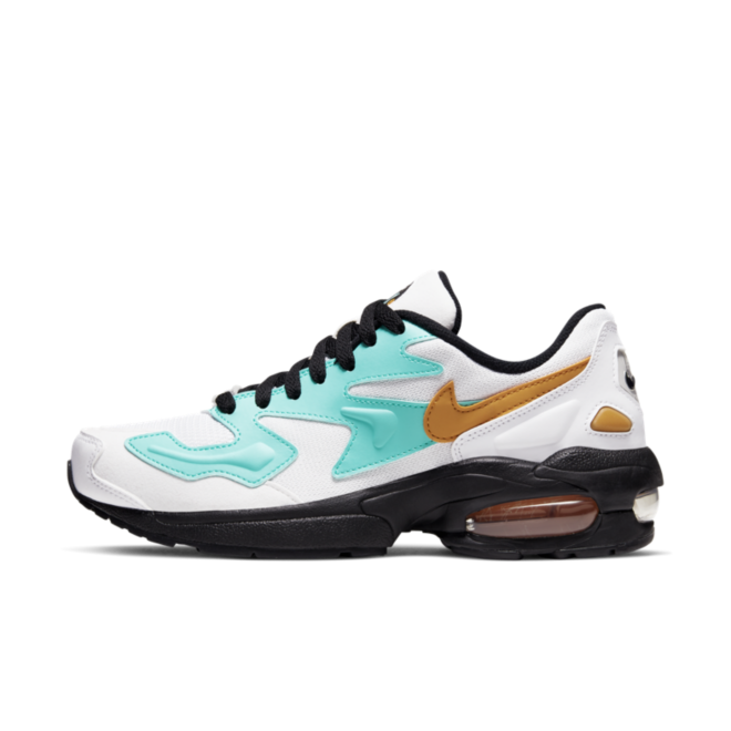 Nike Air Max 2 Light 'White Aqua' zijaanzicht